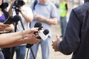 Dealing with the press doesn't have to be a high-pressure situation.