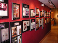 Red Wall Plaques