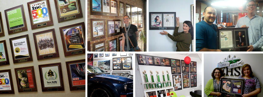 made in america, products made in america, plaques made in ameria, In The News Inc.