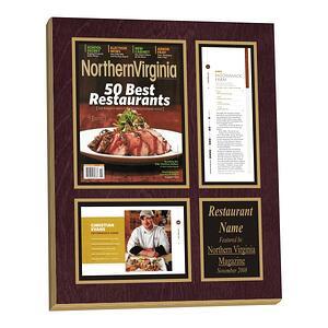 Restaurant Plaque