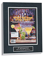 2012 best of awards, custom article plaques, best of the best awards