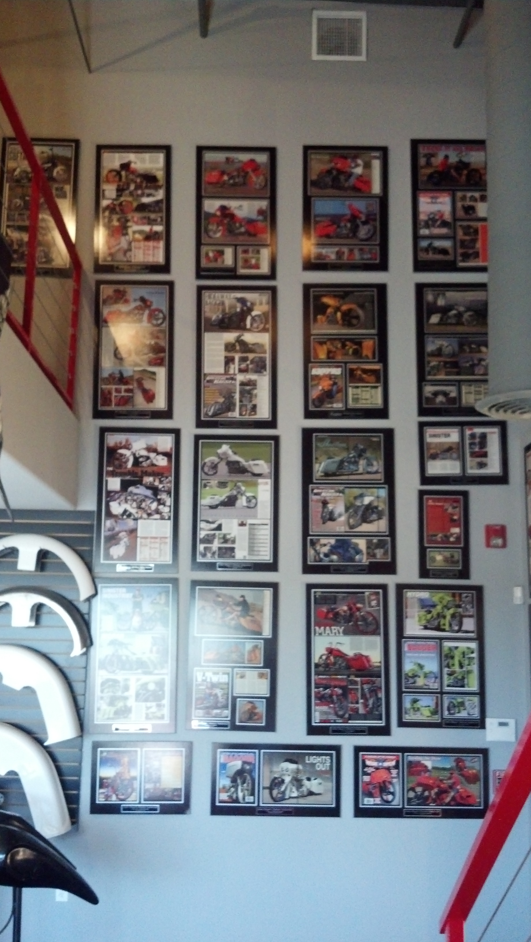 One plaque is an impressive display of skill, a whole wall of plaques is proof positive of being awesome at what you do.