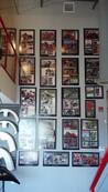 magazine frame, magazine frames, article framed plaque, article framing