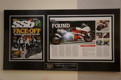 framing magazine pages, frame magazine, magazine frames