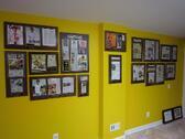 frame old newspaper articles, framed article plaques, framing newspaper articles