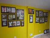 frame old newspaper articles, framed article plaques, framing newspaper articles