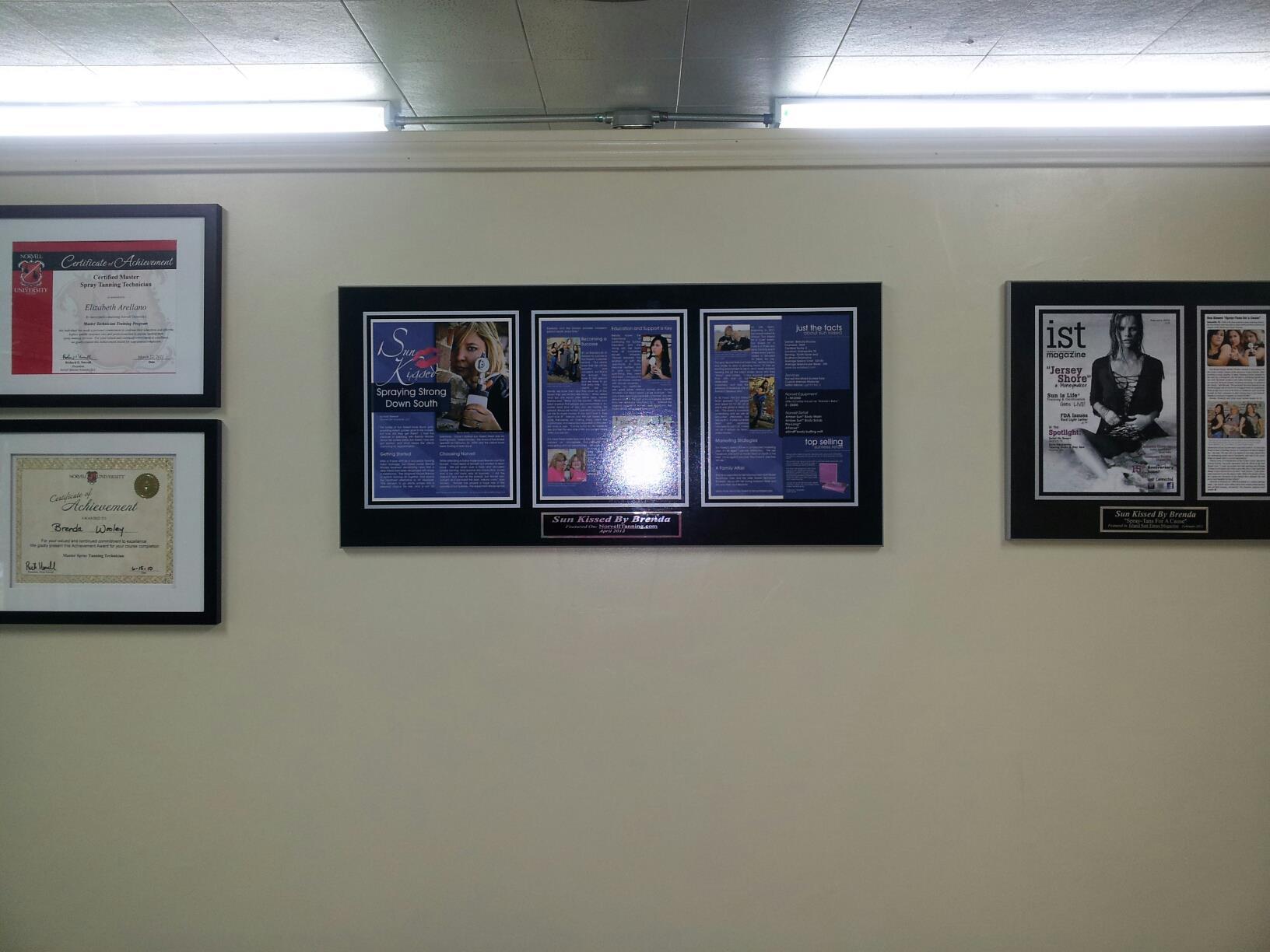 framing magazine articles, magazine articles framed, magazine plaques