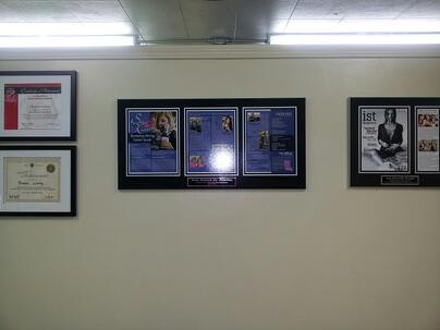 magazine frames, frame magazine articles, framing magazine articles, magazine framing