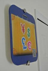 App plaque, app icon sign