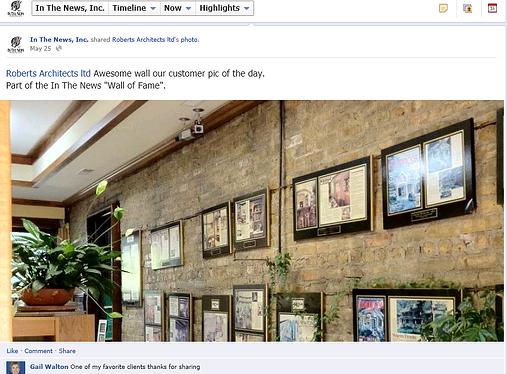 plaque company, social media, sharing photos