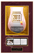 best of wall plaques, best lists plaques, best of the best plaques