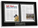magazine display frame, frame magazine, magazine article framing