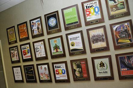 Health Advocate offices wall plaques