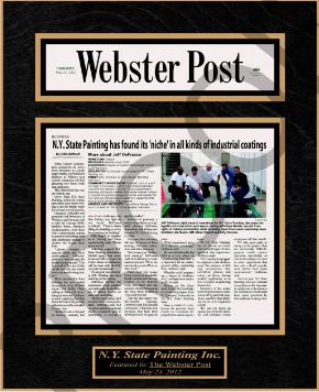 newspaper frames, framing newspaper articles, framed newspaper article