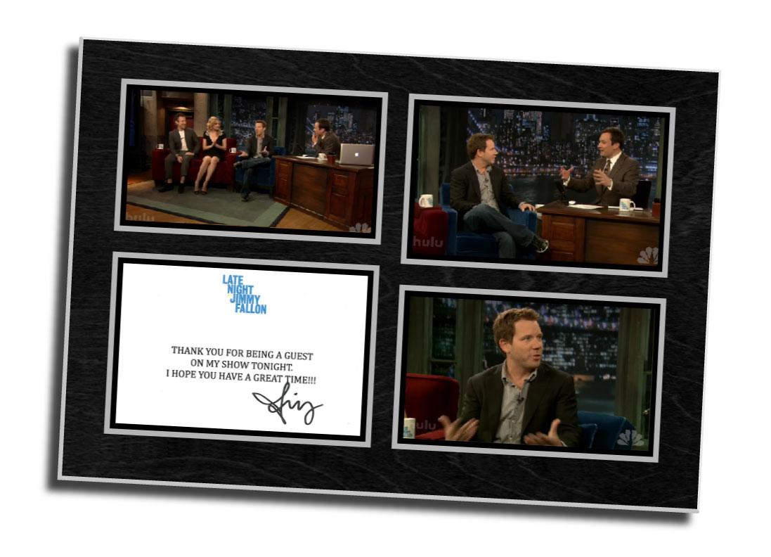 Late night Jimmy Fallon,digital photo,screen capture,