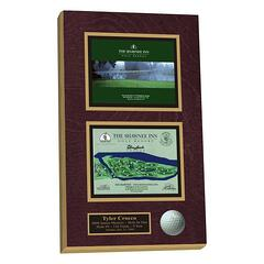 hole-in-one plaque,golf plaque
