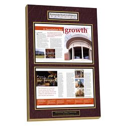 alternative to framing,alternative to picture framing,plaque article, plaque articles