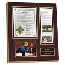 custom online picture frame,newspaper plaque,newspaper framing
