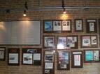 Taylor Gourmet plaques,restaurant wall plaque,restaurnat plaque