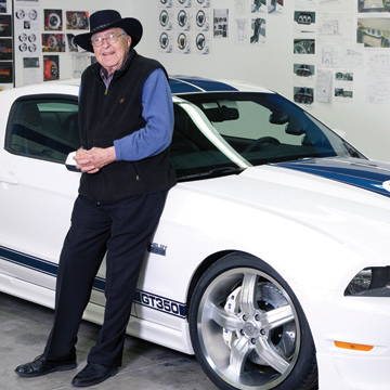 car enthusiast Carroll Shelby tribute