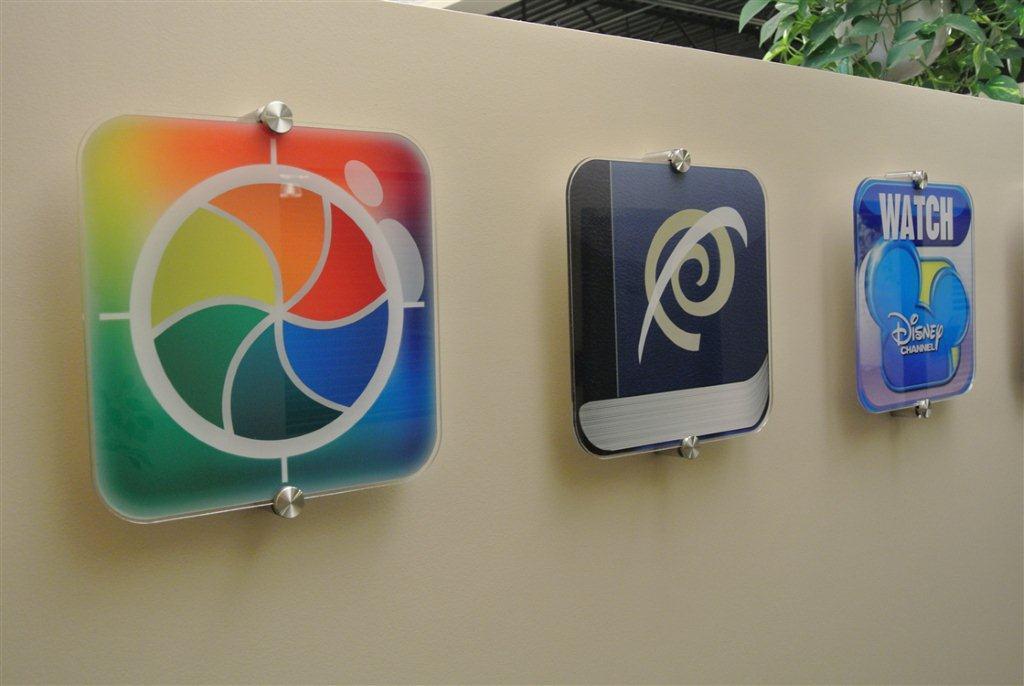 acrylic app signs