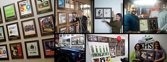 Preserve articles, custom wall plaques, visual marketing wall display