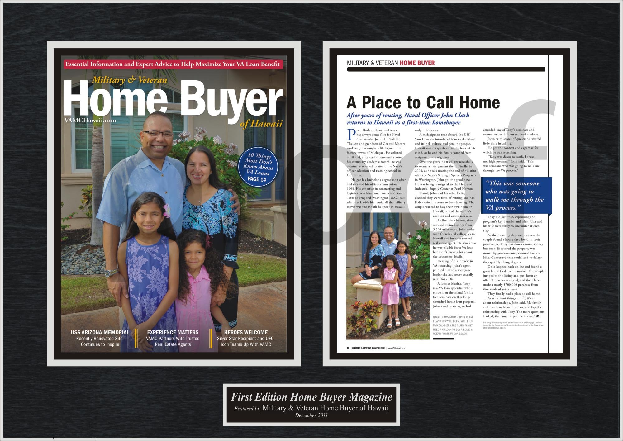In the news blog first time home buyers celebrate by framing magazine articles jeuxipadfo Images