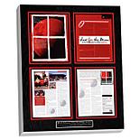 preserved magazine article custom plaque