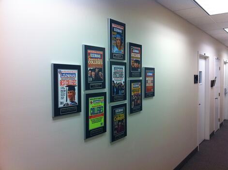 magazine frames, framing magazines, framed magazine articles