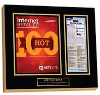personalized wall plaques, award plaques, achievement plaques, magazine plaques, newspaper plaques