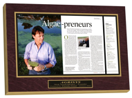 laminated plaques, preserve articles, newspaper frame