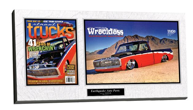 frame magazine, hobby plaque, magazine framing
