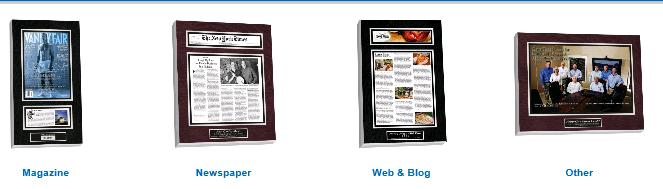 mount magazines, mounting magazine articles, mount frame magazine articles