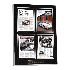 car featured magazine plaque,custom car wall plaque,magazine plaque