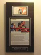 framed magazine article, magazine articles framing, frame magazines