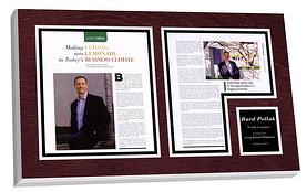 framed article plaque, framed article plaques, article plaques