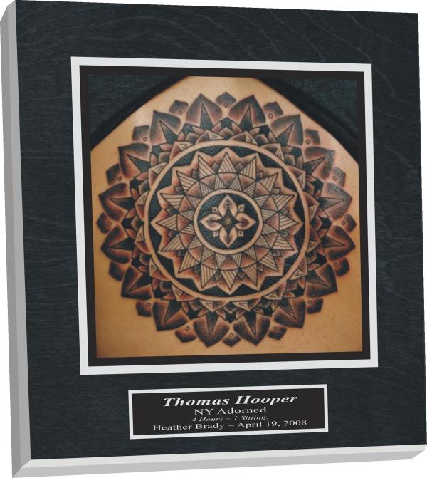 tattoo plaque,digital photo tattoo plaque, tattoo digital photo