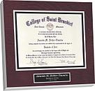diploma plaque, mounting a diploma, preserve diploma