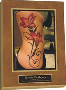 tattoo plaque,digital photo plaque,tattoo digtial photo,tattoo artwork plaque