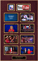 Ann Romney, screenshot, you tube, laminted plaques