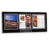 custom media display plaque