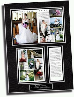 magazine article wall plaque, magazine plaque, framed article plaque,