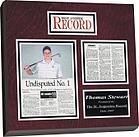 newspaper plaque