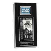 usa today plaque