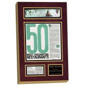 frames for newspaper articles, newspaper aricle wall display, newsaper article plaque