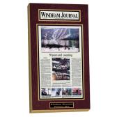 newspaper frames, frame for a newspaper, newspaper display frames