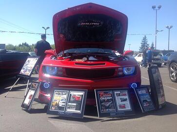 trade shows, custom showboards, custom wall plaques