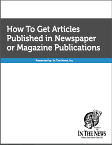 how to get published, magazine articles published, newspaper articles published