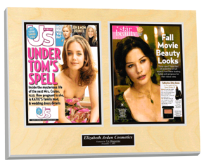 frame personal magazine article, frame magazine, article framing, magazine plaque