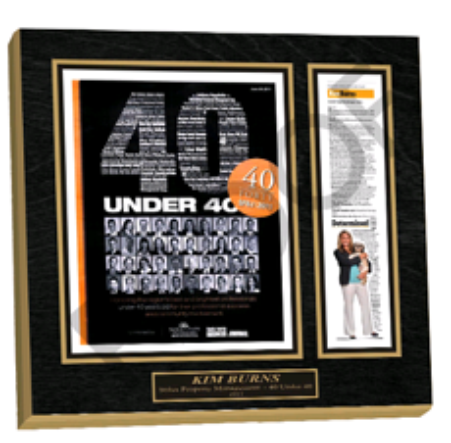 achievement plaque, award plaque, newspaper plaque, frame newspaper article